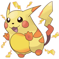 <b>13th December 2015 - Green-Version Pikachu</b><br>I found myself amazed one day by how different Pikachu looked in its original, Green-version sprite, and wondered how it would look in a modern Sugimori style. It's certainly not bad for my first time trying something like this, although it is reminiscent of bootleg artwork. I'm sure it wouldn't be out-of-place on fake GBA boxes, ahaha!