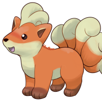 <b>14th December 2015 - Green-Version Vulpix</b><br>Oh no!! This Vulpix is so round! Once again, its original sprites look rather off-model, so I tried to interpret that artistically. Due to mistaken transparency on the sprite I used as a reference, it also only seemed to have five tails...