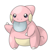 <b>1st April 2016 - Lickiby (Lickitung Pre-Evolution)</b><br>What ever happened to legacy evolutions and baby evolutions, huh? Bleps were a bit of a meme on my blog due to some other artwork I'd made, so it seemed only natural to create a rather blep-esque fakemon for my April fool's joke.