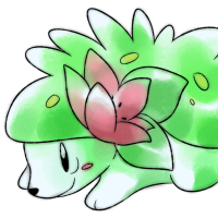 <b>30th October 2016 - Oldie Shaymin</b><br>Shaymin was a much-beloved bot in a chat group I'm in, and I decided to pay tribute to her! Next time I may use blue shading for the body rather than green, as it gave it a bit of an odd effect for this one.